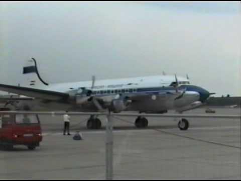 "Douglas DC-4 Suid Afrikaanse Lugdiens ZS-BMH ""Lebombo"" 1998"