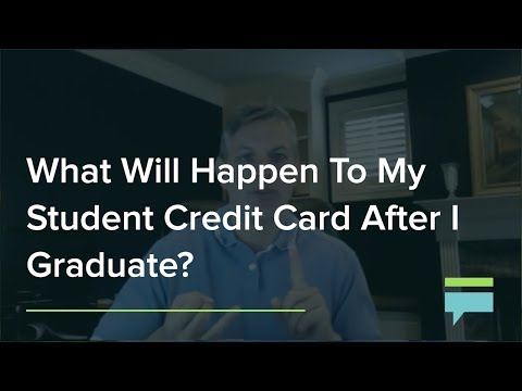 What Will Happen To My Student Credit Card After I Graduate? – Credit Card Insider