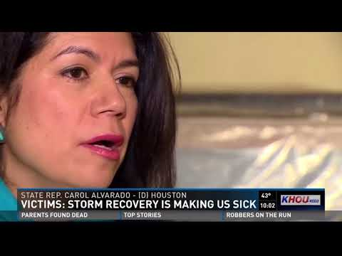 Victims: Storm recovery is making us sick