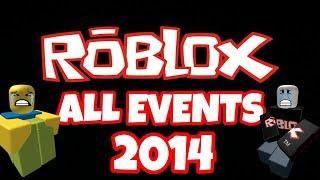 EVOLUÇÃO DO EVENTO ROBLOX-2014