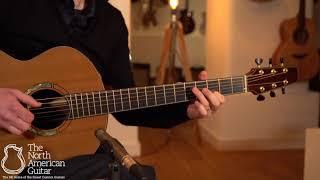 Michaud Made J R Acoustic Guitar, Panama Rosewood & Sinker Cedar Played By Stuart Ryan (Part One)