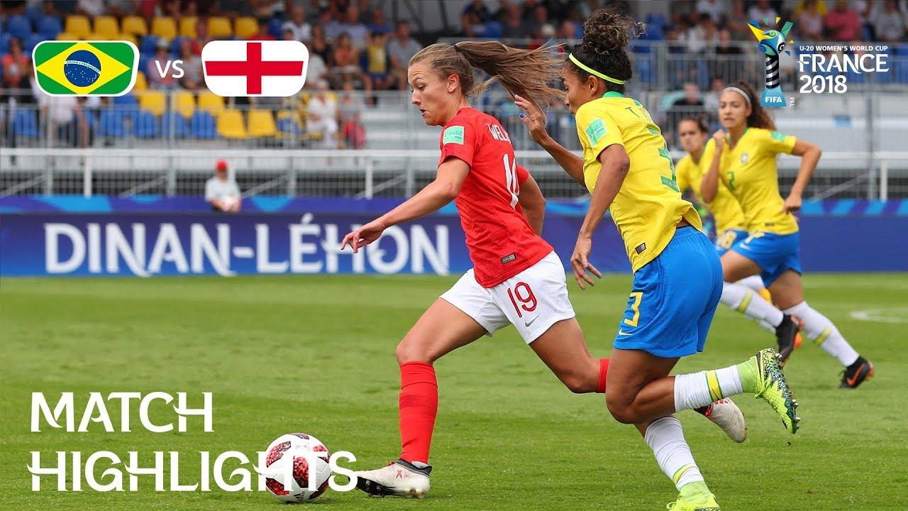 7ff4949b45f Brazil v. England - FIFA U-20 Women s World Cup France 2018 - Match ...