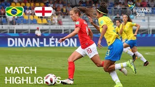 Brazil v. England - FIFA U-20 Women's World Cup France 2018 - Match 12