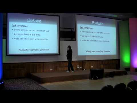 How to Web 2014 (Game Dev Track): Dan Olthen - Make it happen (the story of a production cycle)