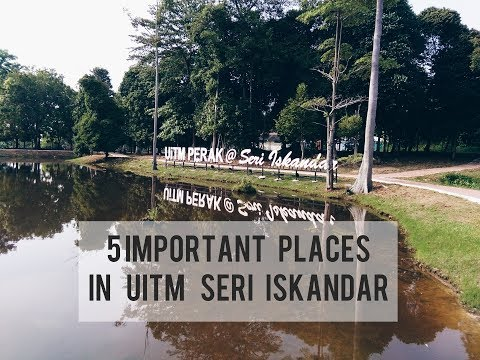 5 IMPORTANT PLACES IN UITM SI (UED VIDEO PROJECT)