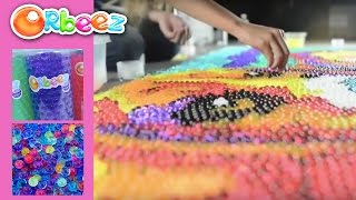 Biggest Orbeez Art Ever! | Official Orbeez