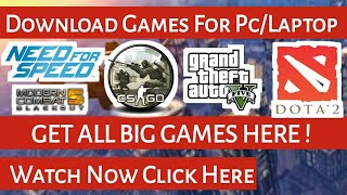 Best Way To Download Games For Pc and Laptop thumbnail