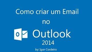 # Aula 2 - Como Criar um Email no Hotmail 2014 [ATUALIZADO]