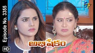Abhishekam | 16th October 2019  | Full Episode No 3355 | ETV Telugu