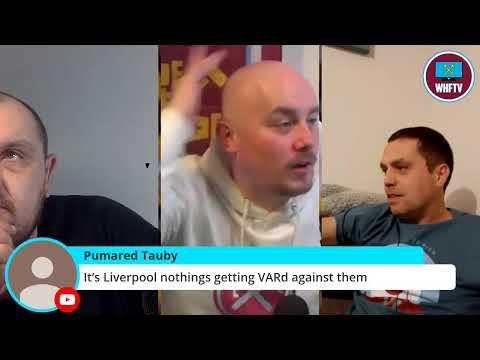Liverpool Vs West Ham | Live Watch Along !