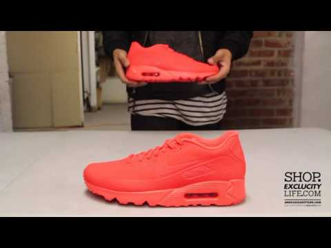 NIKE AIR MAX 90 PREMIUM BRIGHT CRIMSON BLACK (SNEAKER UNBOXING, REVIEW AND ON FOOT)