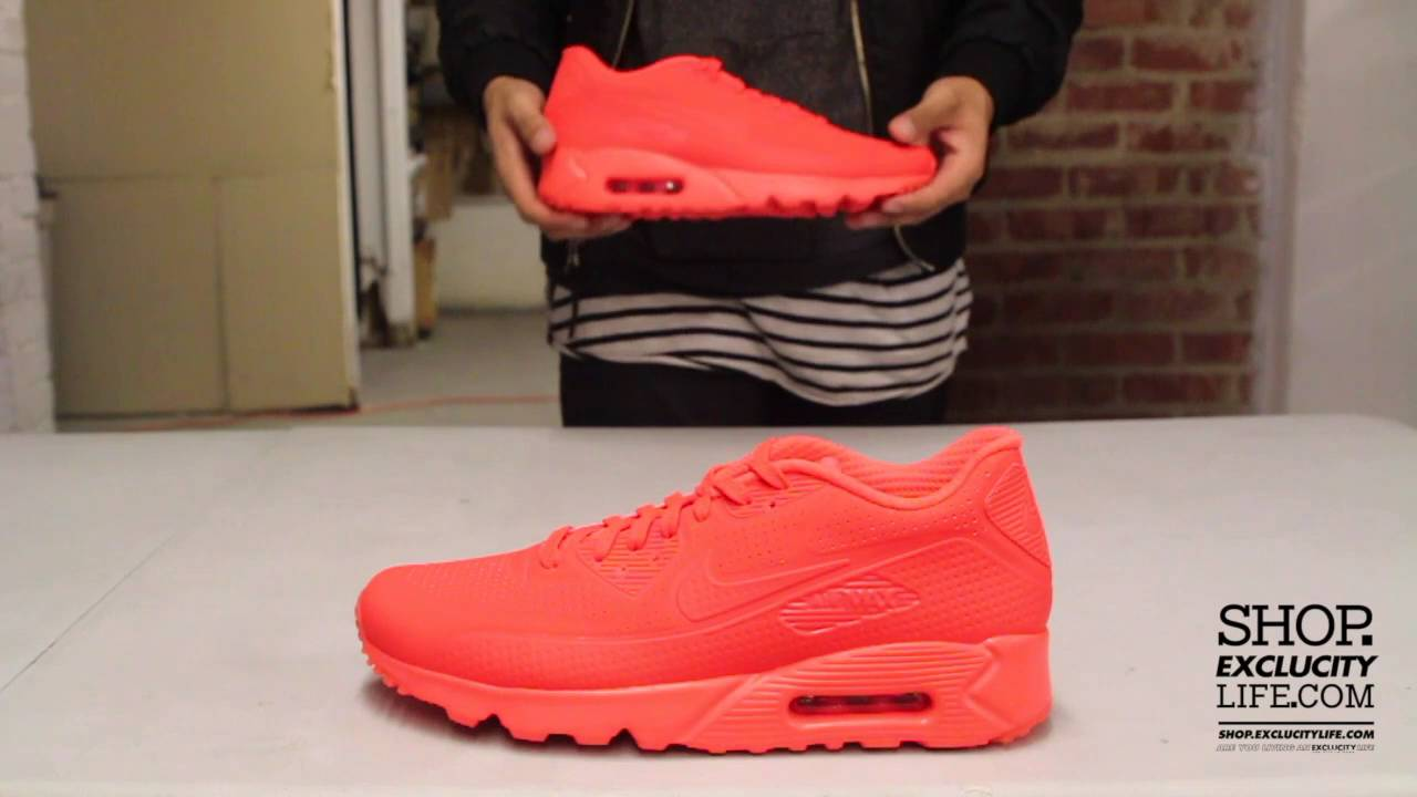 all orange air max 90