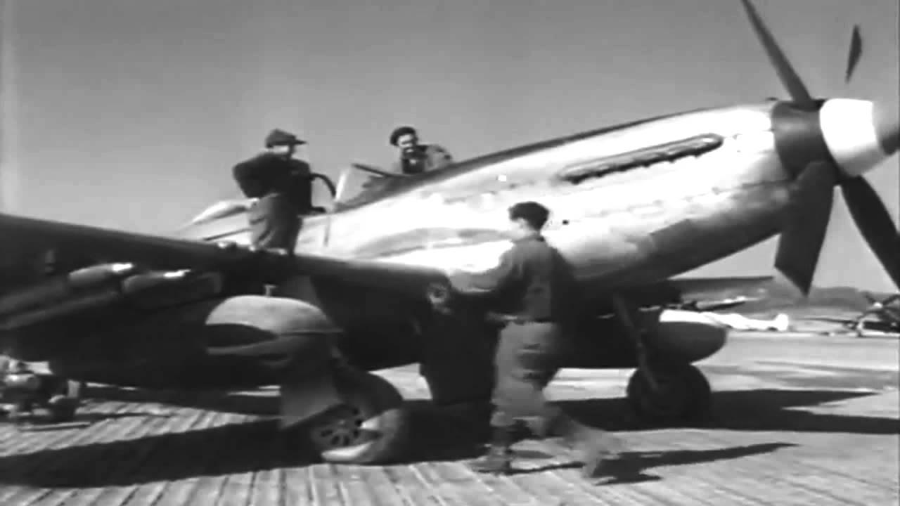 Royal Australian 77th Fighter Squadron In Korean Action, 9/4/1951 (full)
