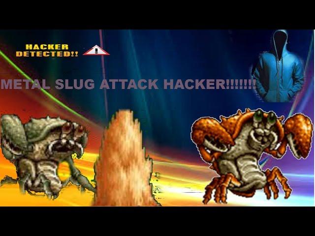 METAL SLUG ATTACK!! HACKER!!!