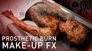 Burn Makeup FX Application