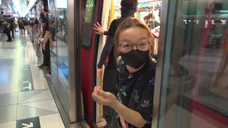 MTR operates exclusive train for violent protesters in Hong Kong