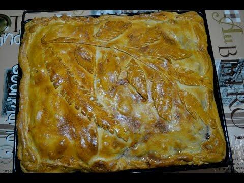 Пирог с курицей. Очень вкусный рецепт.