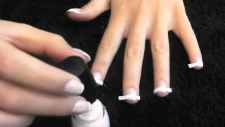 Quick and Easy to do French Manicure