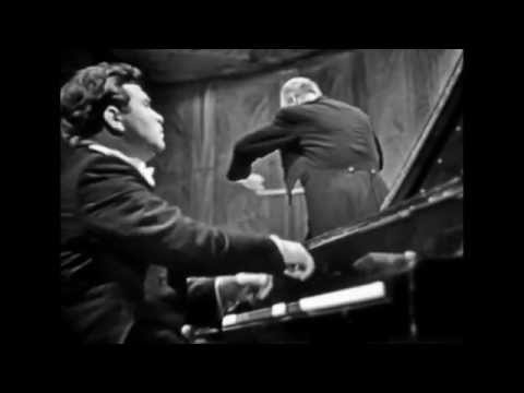 Emil Gilels - Tchaikovsky - Piano Concerto No 1 - Cluytens