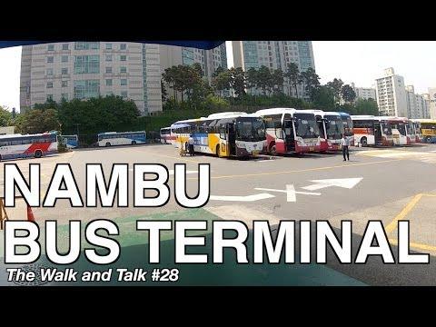 Nambu Bus Terminal - The Walk and Talk #28