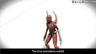 9.13 The Martyr 3D modeling pipeline: Animation