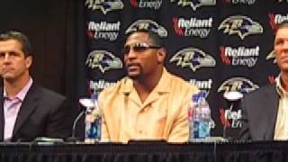 Ray Lewis says the Ravens always overcome change