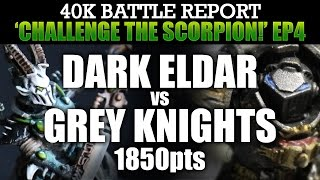 Dark Eldar vs Grey Knights Warhammer 40K Battle Report CTS4: HERE THEY COME AGAIN! 1850pts | HD