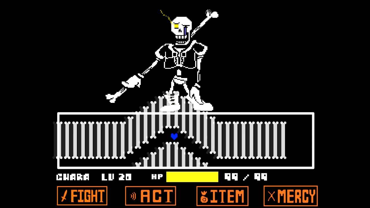 [READ DESCRIPTION] Disbelief Papyrus (Fanmade Undertale Fight Animation)
