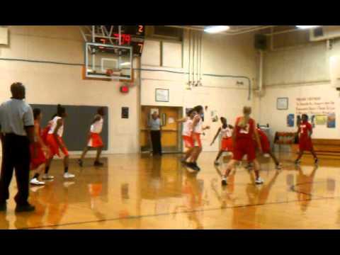 PEARCE Middle School Girls Basketball-Destinee