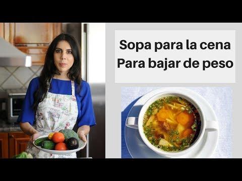 Haz esta sopa para bajar de peso y mira cómo adelgazas