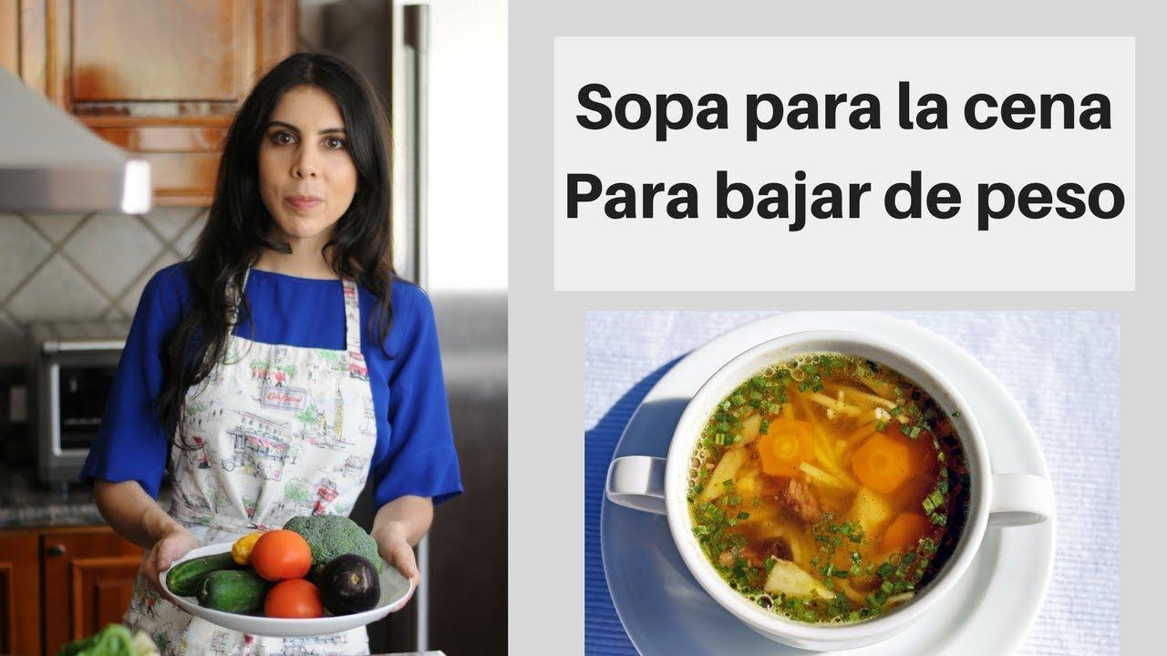 recetas de sopa de dieta india para bajar de peso