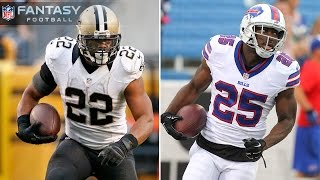 Mark Ingram or LeSean McCoy in Fantasy Football & MORE of your Twitter questions
