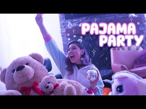 DIY New Years Pajama Party