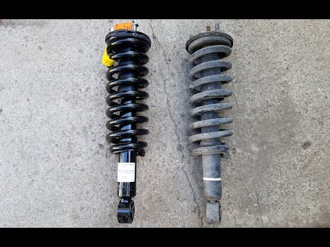 How to Replace Front Struts Toyota Tundra & Sequoia 1999-2007 (Front Shocks)
