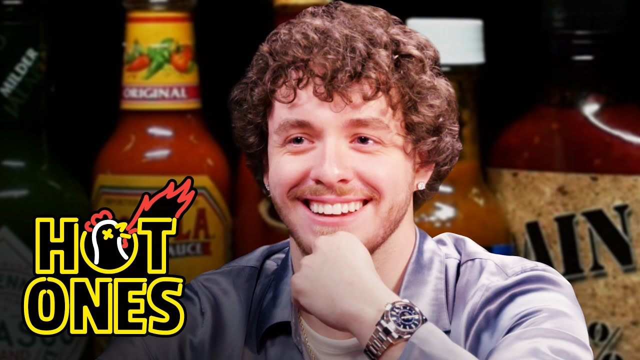 Download Jack Harlow Returns to the Studio to Eat Spicy Wings | Hot Ones