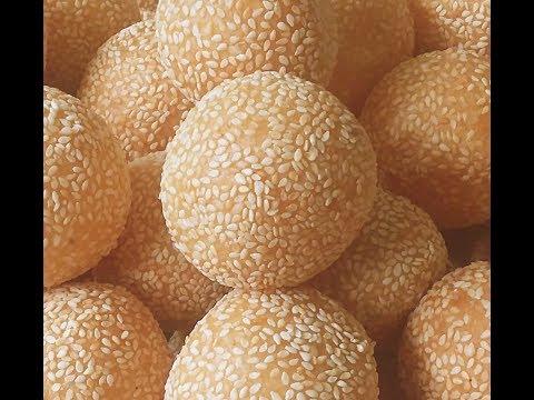 Bánh cam - New York (P.1) / Sesame Balls (P.1)