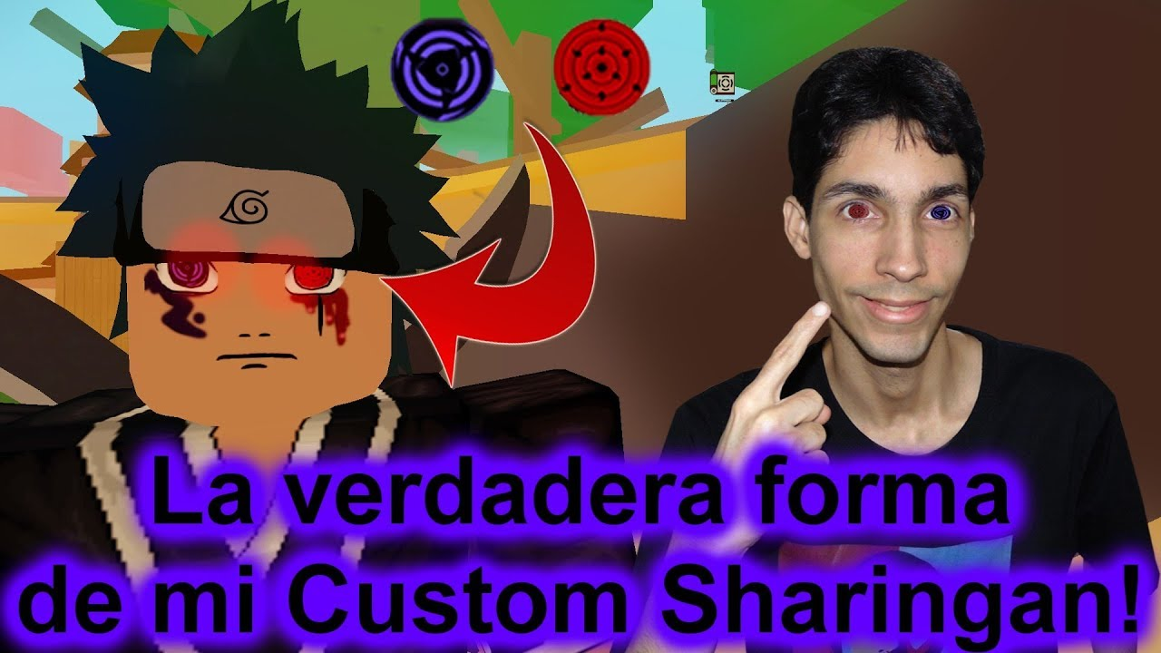 Sharingan Custom Roblox La Verdadera Apariencia De Mi Custom Sharingan Roblox Nrpg Beyond Youtube