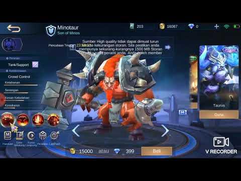 Mobile Legend - Bug kad percubaan hero jadi permanent