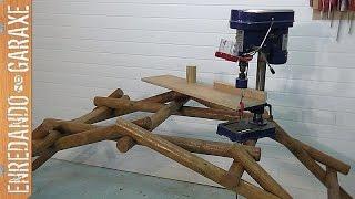 Cómo hacer el puente de Leonardo da Vinci