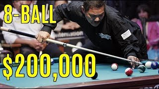 Reyes vs Mike Sigel $200,000 8-ball