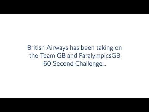 Tom Mitchell and British Airways 60 second challenge part 3