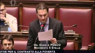 """Daniele Pesco (M5S): """"La povertà dilaga nel Paese"""""""