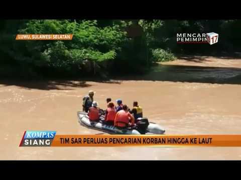 Hari Ke-4, Tim SAR Terus Cari Bocah Terseret Sungai Salu