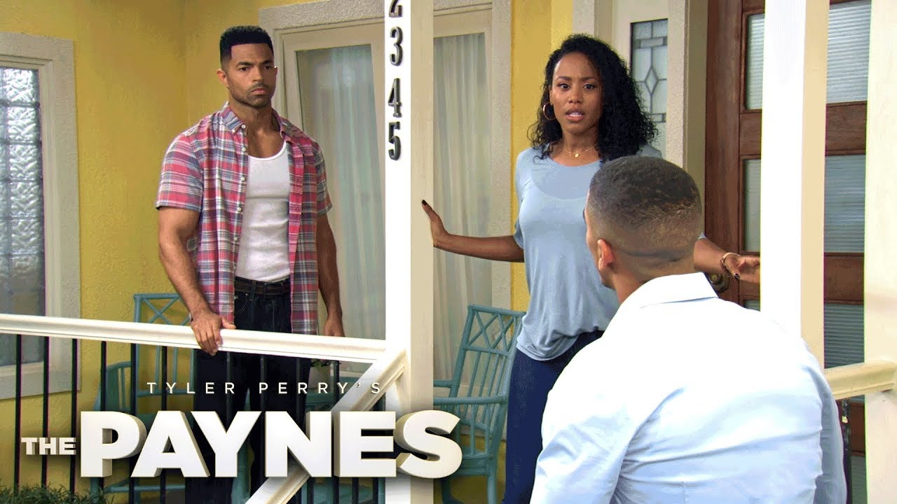 Download Kendrick Catches Nyla and Terrance Kissing | Tyler Perry's The Paynes | Oprah Winfrey Network