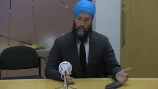 Jagmeet Singh speaks with Star journalists about youth