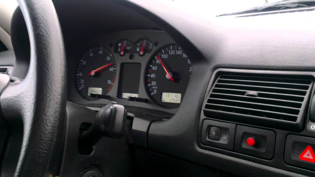 VW Golf 4 1.6 Variant Automatic Acceleration - YouTube