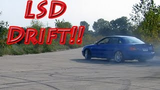 Audi S4 Drifting, Powerslides, and Donuts After Adding Porsche Rear LSD...