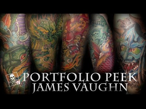 Portfolio Peek - James Vaughn
