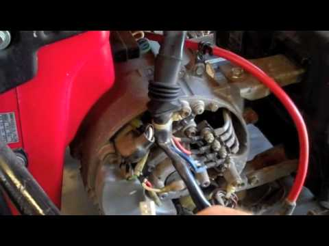 flashing the field on honda em 5000s generator youtube rh youtube com honda em5000s generator wiring diagram Honda EM5000SX Generator Wiring Diagram