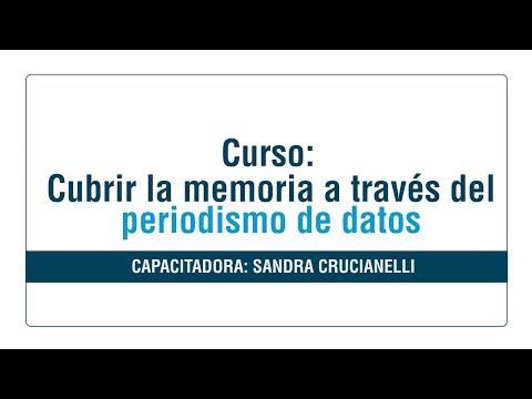 Curso virtual: Cubrir la memoria a través del periodismo de datos [ Módulo 5]